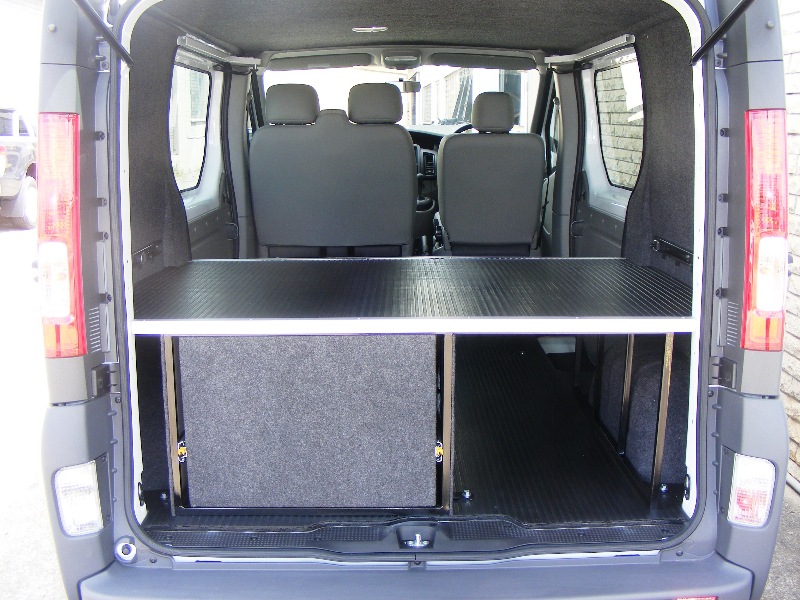 Renault Traffic Single Drawer and False Floor