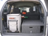 Cargo Drawer Drivers Side and Fridge Slide Passenger Side