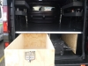 Trafic LWB Single Drawer System with Free Standing Side Compartments