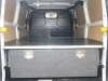 Transit Custom - Aluminium Carpet Covered Single Drawer