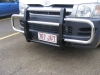 Black and Chrome Steel Loop Bullbar - Also available in Black
