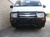 Hiace LWB Black Steel Full Wrap Bullbar