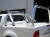 Sports Style Ute Ladder Racks Polished Alloy