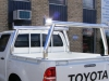 Trade Style Ute Ladder Racks Front Fixed Rear Removable