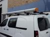 Berlingo Heavy Duty 4 Bar Roof Racks with Ladder Slides and Conduit