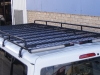 Tradesman Roof Rack Hiace LWB with Mesh Floor and Double Rear Rollers