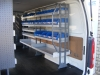 VAS Racking Drivers side - 2 x 10 Collection Bays 2148mm long overall