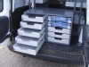 VAS 5 Tier Drawer Units, 5 Shallow Drawers and 2 Carry Cases with 3 Shallow Drawers