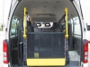 Rear View - Internal Wheelchair Hoist