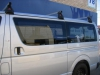 Toyota Hiace LWB 04/2005 - Current Front Fixed Window and Rear Sliding Window
